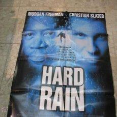 Cine: CARTEL CINE ORIGINAL HARD RAIN. Lote 49417896