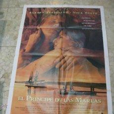 Cine: CARTEL CINE ORIGINAL EL PRINCIPE DE LAS MAREAS. Lote 49417963
