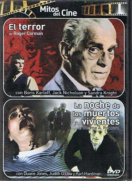 DVD EL TERROR & LA NOCHE DE LOS MUERTOS VIVIENTES (Cine - Posters y Carteles - Terror)
