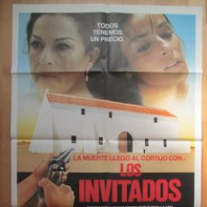 Cinéma: CARTEL CINE, LOS INVITADOS, AMPARO MUÑOZ, PABLO CARBONELL, C541. Lote 49511381