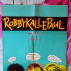 Cine: ROBBYKALLEPAUL DANI LEVY CARTEL DE LA PELICULA K1. Lote 49542355