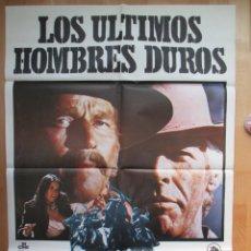 Kino - CARTEL CINE, LOS ULTIMOS HOMBRES DUROS, CHARLTON HESTON, JAMES COBURN, 1976, C575 - 49561381