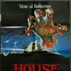 Cine: WB13 HOUSE 3 THE HORROR SHOW TERROR POSTER ORIGINAL 70X100 ESTRENO. Lote 49563529