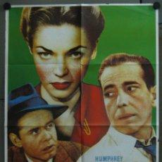 Cine: WB38 LA SENDA TENEBROSA HUMPHREY BOGART LAUREN BACALL POSTER ORIGINAL ESPAÑOL 70X100. Lote 49572186