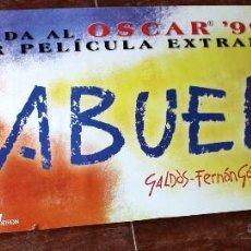 Cinéma: CARTEL POSTER EL ABUELO . JOSE LUIS GARCI. FERNANDO FERNAN GOMEZ. GRAN TAMAÑO.. Lote 49636235