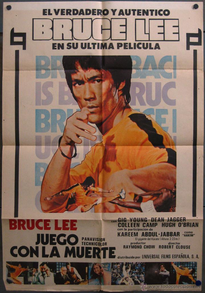 poster pelicula bruce lee