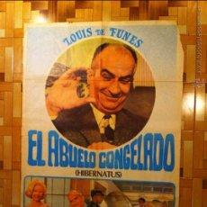 Cine: CARTEL ESTRENO PELICULA EL ABUELO CONGELADO LOUIS DE FUNES POSTER ORIGINAL 70X100 ESPAÑOL. Lote 49657815
