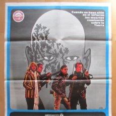 Cine: CARTEL CINE, ZOMBI, EL REGRESO DE LOS MUERTOS VIVIENTES, DARIO ARGENTO, JANO, 1978, C385. Lote 49693848