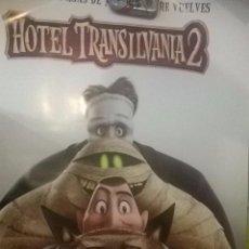 Cine: POSTER HOTEL TRANSILVANIA 2 ORIGINAL. Lote 49753357