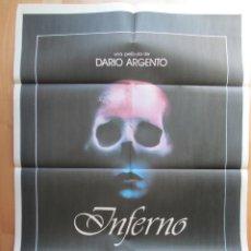 Cine: CARTEL CINE, INFERNO, DARIO ARGENTO, C669. Lote 49772484