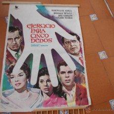Cine: EJERCICIO PARA CINCO DEDOS. Lote 49858477