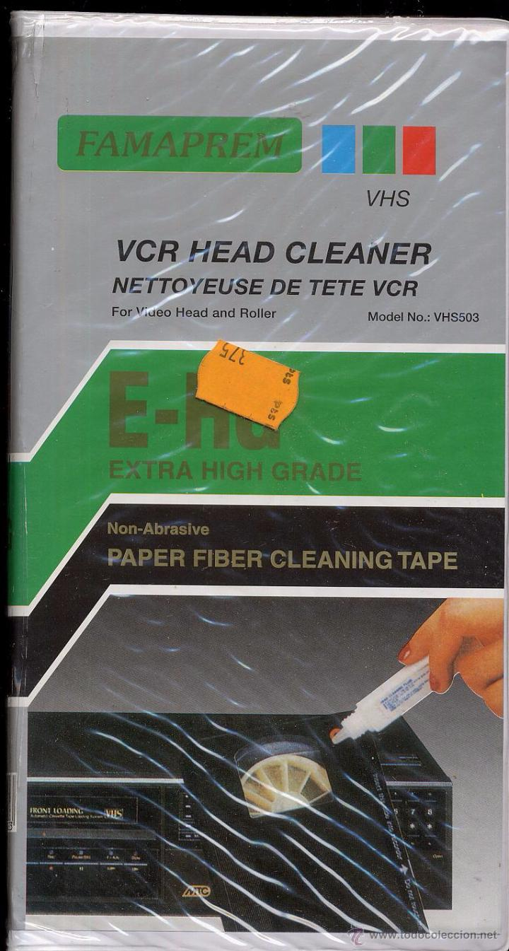 Cine: LIMPIADOR CABEZALES VIDEO VHS VCR HEAD CLEANER ------------ (ref M1 E1) - Foto 1 - 49960888