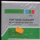 Cine: LIMPIADOR CABEZALES VIDEO VHS VCR HEAD CLEANER ------------ (REF M1 E1). Lote 49960888