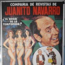 Cine: (13473) LA CHISPA DE LA VIDA,COMPAÑIA DE REVISTA DE JUANITO NAVARRO, JANO,CARTEL DE CINE ORIGINAL 70. Lote 50030875