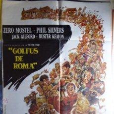 Cine: CARTEL DE CINE. GOLFUS DE ROMA. 70X100 CM. Lote 50088626