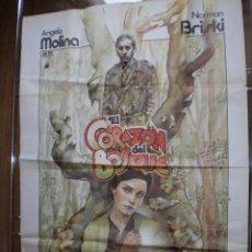 EL CORAZON DEL BOSQUE // CARTEL ORIGINAL 1979 IVAN ZULUETA // MANUEL GUTIERREZ ARAGON