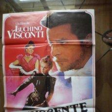 Cine: EL INOCENTE // LUCHINO VISCONTI // CARTEL DE CINE ORIGINAL // L'INNOCENTE. Lote 50126550