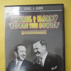 Cine: LAUREL. HARDY. BEFORE THE BOWLER. A DOCUMENTARY. Lote 50137099