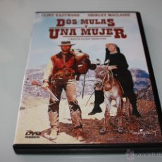 Cine: DOS MULAS Y UNA MUJER - TWO MULES FOR SISTER SARA - DVD - CLINT EASTWOOD - SHIRLEY MACLAINE. Lote 50159074