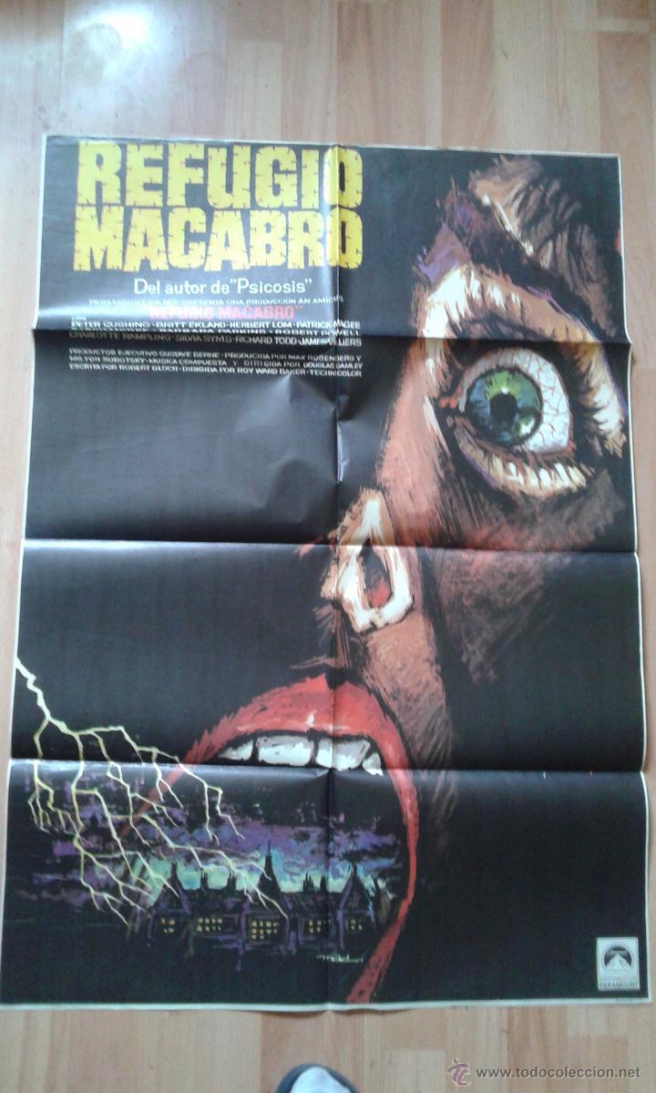 POSTER DE LA PELICULA REFUGIO MACABRO (Cine- Posters y Carteles - Drama)