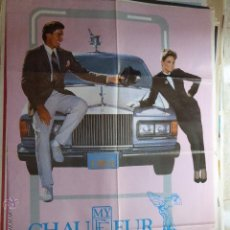 Cine: CARTEL DE CINE- MOVIE POSTER. MY CHAUFFEUR. 100X70 CM. Lote 50186074