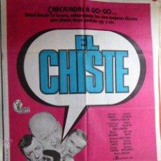 Cine: CARTEL DE CINE- MOVIE POSTER. EL CHISTE. 100X70 CM. Lote 50186143