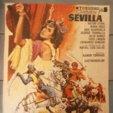 Cine: (13794) LOS AMANTES ESCLAVOS,CARMEN SEVILLA,VICTOR STAAL,MARA CRUZ,JOSE GUARDIOLA,CARTEL DE CINE ORI. Lote 50274673