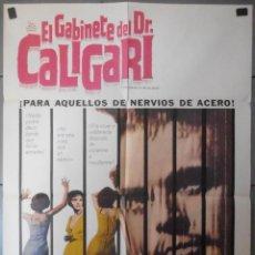 Cine: (13773) EL GABINETE DEL DR. CALIGARI ,FGLYNIS JOHNS,DAN OHERLIHY,CARTEL DE CINE ORIGINAL 70X10. Lote 50291279