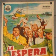 Cine: (13813) LA ESPERA,ROSARIO GARCIA ORTEGA,RAFAEL ARCOS,MONICA PASTRADA,CARTEL DE CINE ORIGINAL 70X100 . Lote 50292493