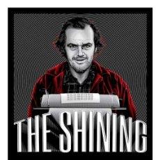 Cine: LÁMINA POSTER DE THE SHINING, EL RESPLANDOR. CARTEL DE CINE. 45 X 32 CMS.. Lote 132729615