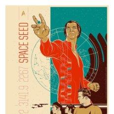 Cine: LÁMINA POSTER DE STAR TREK, SPACE SEED. CARTEL DE CINE. 45 X 32 CMS.. Lote 296720878