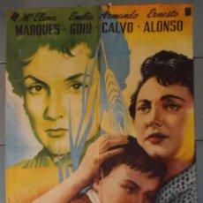 Cine: (13832) MATERNIDAD IMPOSIBLE,MARIA ELENA MARQUES,ARMANDO CALVO,CARTEL DE CINE ORIGINAL 70X100 APROX,. Lote 50317951