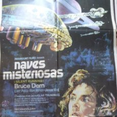Cine: CARTEL DE CINE- MOVIE POSTER. NAVES MISTERIOSAS. 100X70 CM.. Lote 50352820