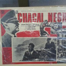 Cine: ANTIGUO CARTEL DE CINE EL CHACAL NEGRO THE BLACK FOX ORIGINAL. Lote 50397427