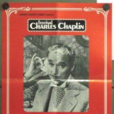 Cine: WE89 MONSIEUR VERDOUX CHARLES CHAPLIN POSTER ORIGINAL 50X70 ESPAÑOL. Lote 50534324