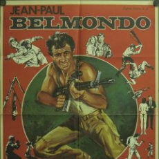 Cine: WE64 EL PROFESIONAL JEAN-PAUL BELMONDO POSTER ORIGINAL 70X100 ESTRENO. Lote 50547097