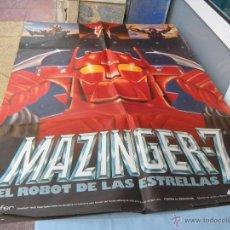 Cine: CARTEL MAZINGER Z 100 X 70 CM. AÑO 1978. Lote 50706611