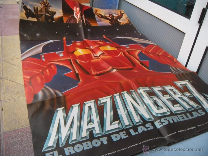 Cine: CARTEL MAZINGER Z 100 X 70 CM. AÑO 1978 - Foto 3 - 50706611