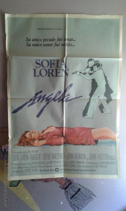 POSTER DE LA PELICULA...ANGELA (Cine - Posters y Carteles - Aventura)
