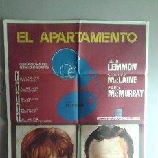Cine: POSTER DE LA PELICULA...EL APARTAMENTO. Lote 50775883