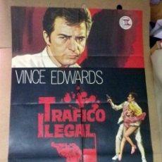 Cine: ANTIGUO CARTEL ORIGINAL, CINE, TRQA, 100 X 70 CM. Lote 50805069
