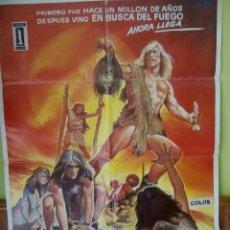 Cine: CARTEL LOS FORJADORES DEL MUNDO. Lote 50903758