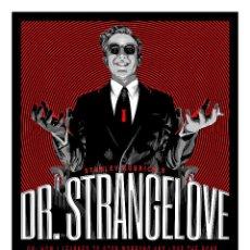 Cine: KUBRICK. DR. STRANGELOVE. TELÉFONO ROJO VOLAMOS HACIA MOSCÚ. LÁMINA CARTEL 45 X 32 CMS.. Lote 139784465