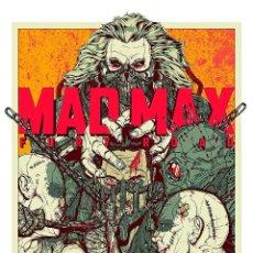 Cine: MAD MAX FURY ROAD. LÁMINA CARTEL 45 X 32 CMS.. Lote 50916165