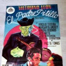 Cine: PADRE PITILLO 1954 CIFESA ORIGINAL ESTRENO CARTELISTA FERNANDO ALBERICIO. 70 X 100 CMS. LITOGRAFÍA. Lote 50917493