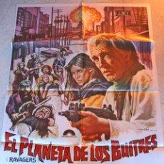 Cine: EL PLANETA DE LOS BUITRES. ORIGINAL CARTEL POSTER. MOVIE. 70 X 100. Lote 50986978