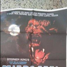 Cine: MIEDO AZUL. ORIGINAL. POSTER. CARTEL. 70 X 100. ORIGINAL. ESTRENO. STEPHEN KING. Lote 51026382