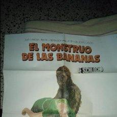 Cine: EL MONSTRUO DE LAS BANANAS. CARTEL. ORIGINAL. POSTER. ORIGINAL. Lote 126616912