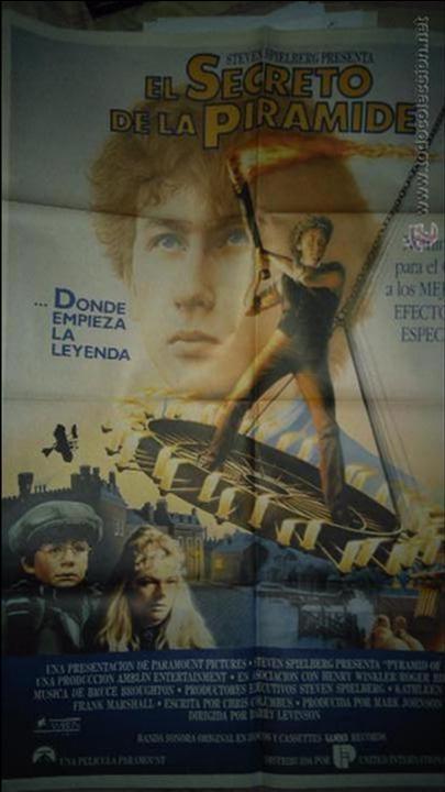 EL SECRETO DE LA PIRAMIDE. CARTEL. POSTER. ORIGINAL. 70X100. (Cine - Posters y Carteles - Suspense)