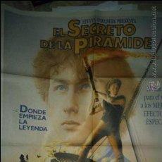Cine: EL SECRETO DE LA PIRAMIDE. CARTEL. POSTER. ORIGINAL. 70X100.. Lote 51112659